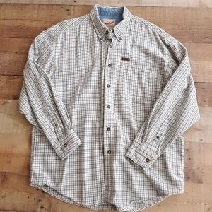 Woolrich Button Down Outdoor Cotton shirt Large